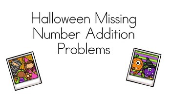 Missing Numbers Halloween