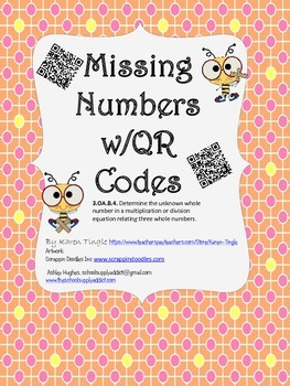 Missing Numbers Multiplication & Division