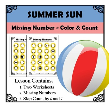 Missing Numbers - Summer