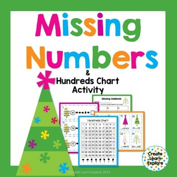 Missing Numbers and Hundreds Chart