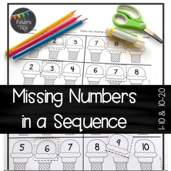Missing Numbers in a Sequence (1-10 and 10-20); Common Cor
