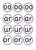 Missing Phoneme Cards - Phase 3 Sets 10-12 (oo or ur ar ow