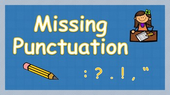 Missing Punctuation