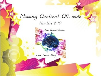 Missing Quotient QR Code (CCSS aligned)