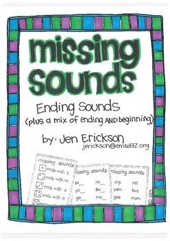 Missing Sounds:  Ending Sounds