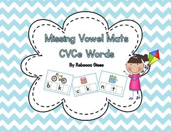 CVCe Missing Vowel Mats