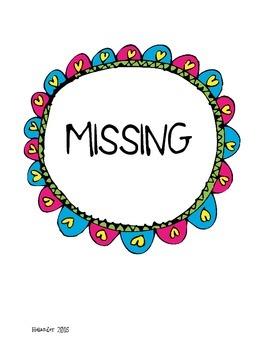 Missing Work Binder- FREEBIE