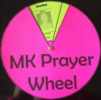 Missionary Kid Prayer Wheel