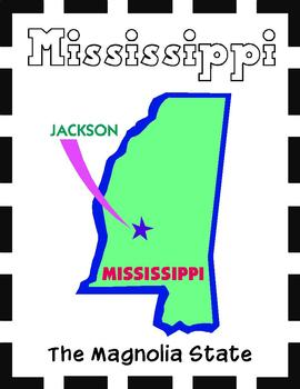 Mississippi State Symbols and Research Packet