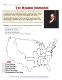 Missouri Compromise Map Analysis