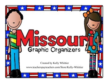 Missouri Graphic Organizers (Perfect for KWL charts and ge