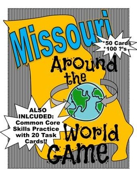 Missouri History and Geography Game: Missouri Around the World