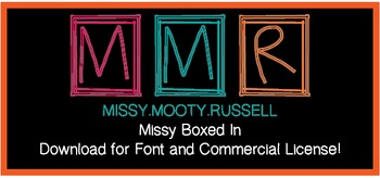 Missy Boxed In Font {Commercial & Personal Use!}