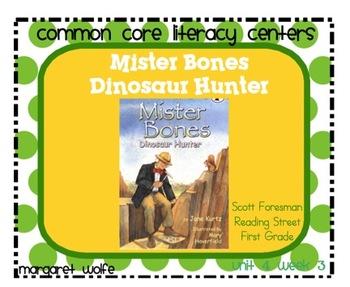 Mister Bones Dinosaur Hunter Unit 4 Week 3 Rdg St Common C