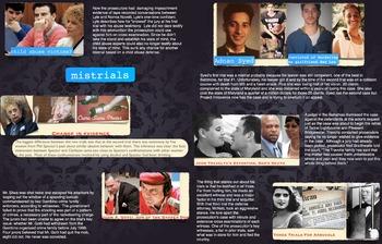 Mistrials ~ Criminal Law ~ FREE POSTER ~ Famous Cases