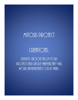 Mitosis Project: Create