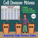 Mitosis and Cell Division Powerpoint Jeopardy Review Game