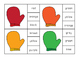Mitten Color Sight Word Clip Cards