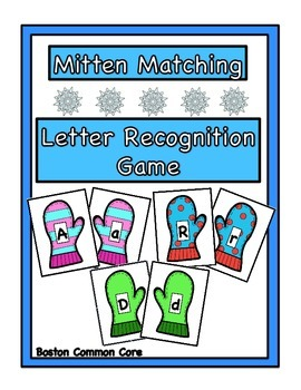 Mitten Matching - Letter Recognition and Identification Game