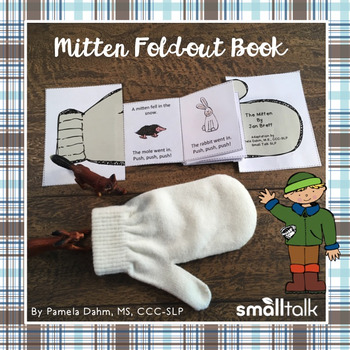 Mitten Story Fold-Out Book