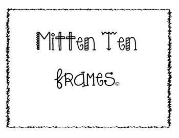 Mitten Ten Frames {Dollar Deal}