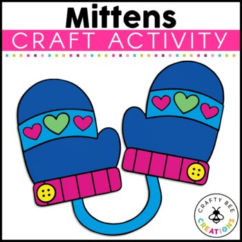 Mittens Cut and Paste