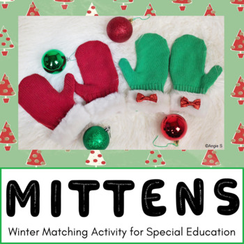 Mittens Matching Activity
