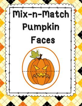 Mix & Match Jack-O-Lantern Faces