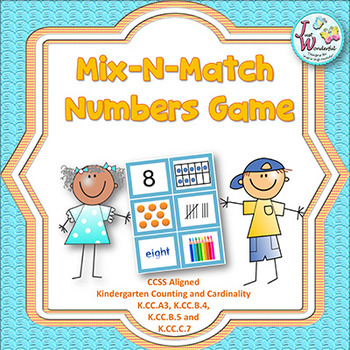 Number Sense - Numbers 1-10 - Mix-N-Match Numbers Game
