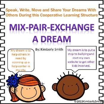 Martin Luther King Jr. Cooperative Learning Activity