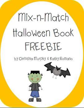 Mix and Match Halloween FREEBIE