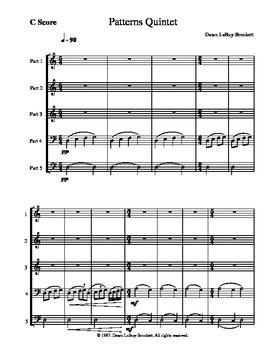 Mix and Match Quintet - Patterns