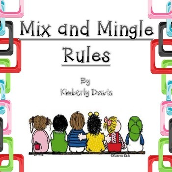 Mix and Mingle (Stand Up, Hand Up, Pair Up) Posters