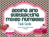 Mixed Numbers Task Cards {Adding and Subtracting}