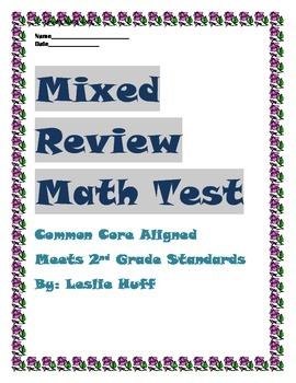 Mixed Review Math Test