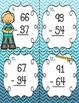 Mixed Two-Digit Subtraction Task Cards (with and without r