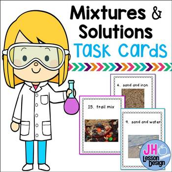 Mixture and Solution Task Cards