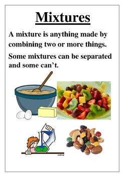 Mixtures Poster - Science