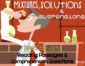Mixtures, Solutions, and Suspensions Differentiated NF Rea