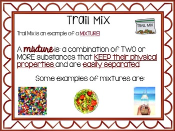 Mixtures and Solutions: Presentation, Notes and Activities BUNDLE