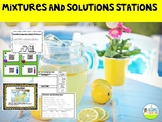 Mixtures and Solutions Stations and QR Code Review