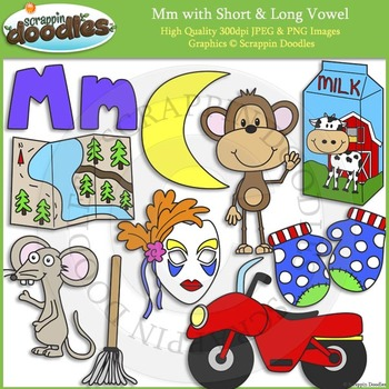 M Short and Long Vowel