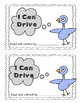 Mo Williams - Pigeon Emergent Reader - I Can Drive