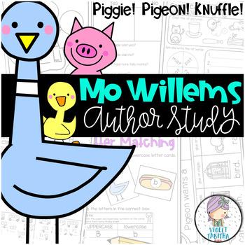 Mo Willems Author Study Unit (Pigeon! Elephant! Piggie!)