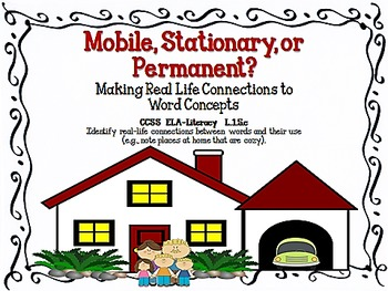 Mobile, Stationary, or Permanent?  Sorting Word Concepts f