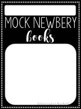 "Mock Newbery and Mock Caldecott ""Books Read"" Tags"