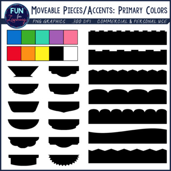 Primary Colors Cover Page Kit