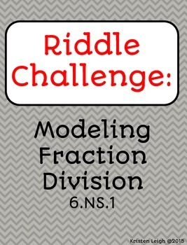 Model Fraction Division  - Carousel Activity (Divide Fract