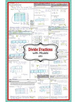 Model Fraction Division (Divide Fractions... by Kristen Leigh ...