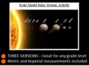 Model Solar System Activity - Collaborative, Inquiry-Based